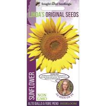 Linda's Original Seeds Sunflower Alto Giallo