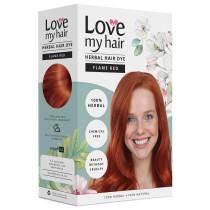 Love My Hair 100% Herbal Hair Dye - Flame Red
