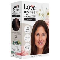 Love My Hair Low Chemical Brown Hair Dye