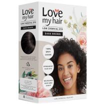 Love My Hair Low Chemical Dark Brown Hair Dye