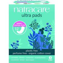 Natracare Organic Cotton Ultra Pads Super Plus