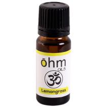 Ohm Oils Pure Lemongrass Essential Oil