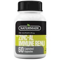 Naturmade Zinc-Al Immune Renu Capsules