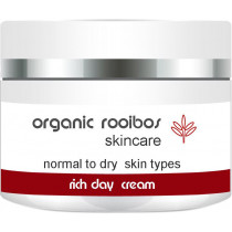 Organic Rooibos Rich Day Cream (Normal-Dry)