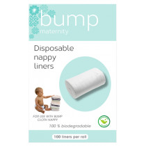 Bump Maternity Disposable Nappy Liners