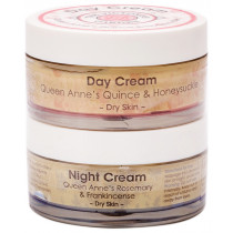 Victorian Garden Quince & Honeysuckle Day Cream & Rosemary & Frankincense Night Cream - Value Pack