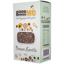 Goodness Me Brown Lentils