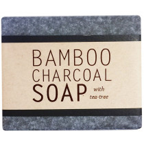 Kalyan Bamboo Charcoal Soap with Tea Tree