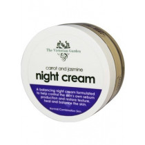 Victorian Garden Carrot & Jasmine Night Cream (Combination Skin)