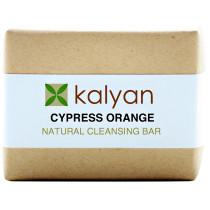 Kalyan Cypress & Orange Natural Cleansing Bar
