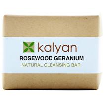 Kalyan Rosewood Geranium Natural Cleansing Bar