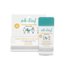 Oh-Lief Natural Sunscreen SPF30 Kids Face Stick