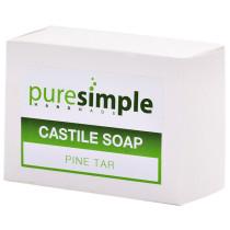 Pure Simple Castile Pine Tar Soap