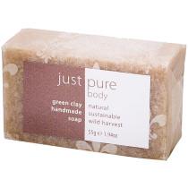 Just Pure Green Clay Soap Bar