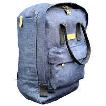Hemporium Denim Uitility Backpack
