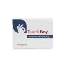 Take It Easy Capsules to Aid Restful Sleep