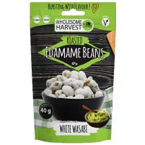 Wholesome Harvest Edamame Beans - Wasabi