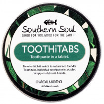 Southern Soul Tooth Tablets - Charcoal