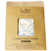 Halo Dish & Bowl Cover Small - Edible Flowers