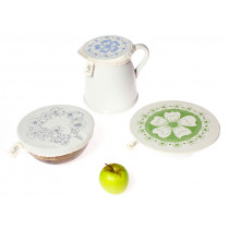 Halo Variety Dish Covers Edible Flowers - Small