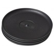 The Huskee Cup Universal Saucer - Charcoal