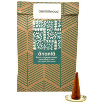 Ananta Luxury Hand Rolled Incense Cones - Sandalwood