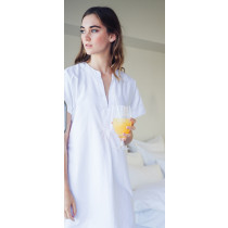 The Pure Cotton Shop Sleep Shirt Short Sleeve
