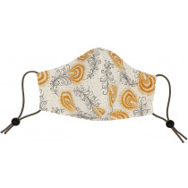 The Silk Lady Triple Layer Silk & Cotton Face Mask - Adult