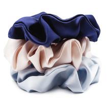 The Silk Lady Pure Silk Scrunchies - Day Dream