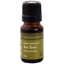 Faithful to Nature Organic Tea Tree Essential Oil