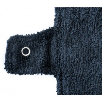Woman-Kind Reusable Black Fabric Pads Pack of 2 (Large)