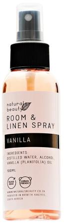 Naturals Beauty Vanilla Room & Linen Spray