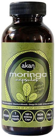 Akan Moringa Capsules - 180s