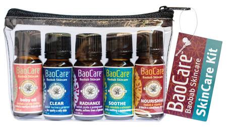 BaoCare Baobab Skin Rescue Kit