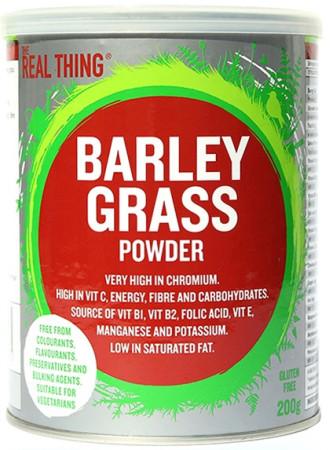 The Real Thing Barley Grass Powder