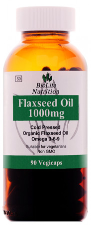 BioLife Flax Oil 1000mg