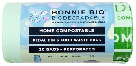 Bonnie Bio Compostable Pedal Bin Bags - 3 & 5 Litre