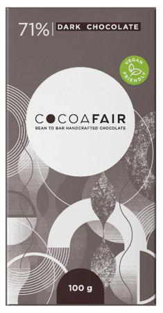 CocoaFair 71% Dark Chocolate