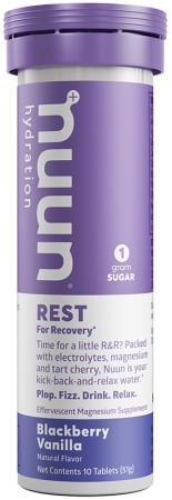 nuun Hydration Rest Blackberry Vanilla