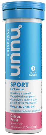 nuun Hydration Sport Citrus Fruit