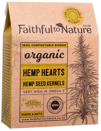 Faithful to Nature Organic Hemp Hearts