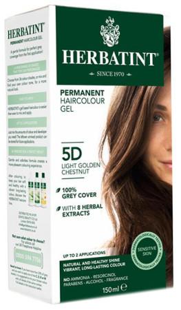 Herbatint Hair Colours - 5D Light Golden Chestnut
