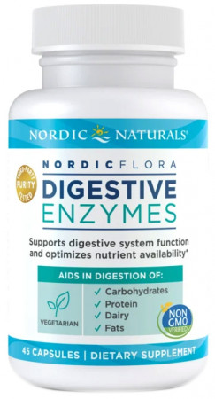 Nordic Naturals Nordic Flora Digestive Enzymes