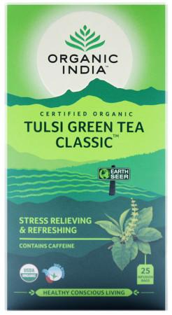 Tulsi Tea with Green Tea