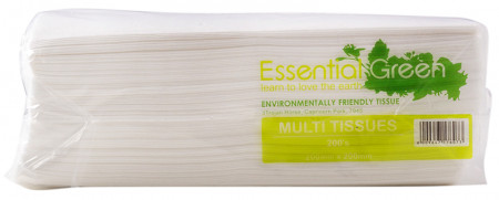 Essential Green 2 Ply Multi Tissues