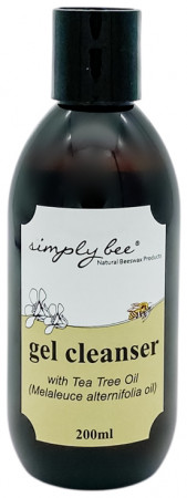 Simply Bee Facial Gel Cleanser with Tea Tree Oil