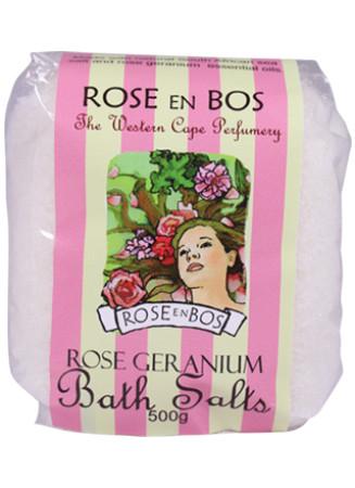 Rose en Bos Bath Salt - Rose Geranium