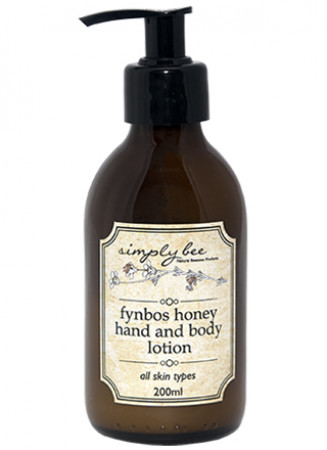 Simply Bee Hand & Body Lotion with Fynbos Honey