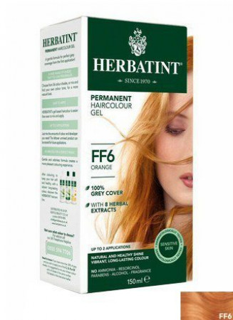 Herbatint Hair Colours - FF6 Flash Fashion Orange