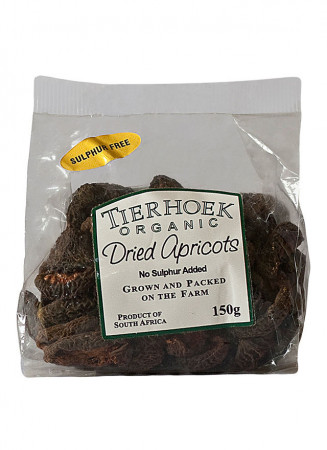 Tierhoek Organic Dried Apricots (Sulphite Free)